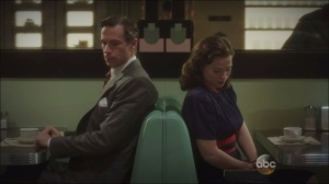 Now is Not the End- Jarvis and Peggy meet at the L&L