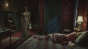 Now is Not the End- Peggy finds Colleen resting in bed after she'd been sent home