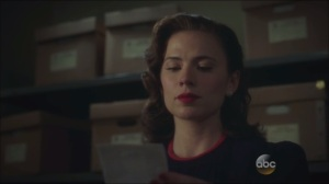 Now is Not the End- Peggy goes through the Project Rebirth file and remembers Steve