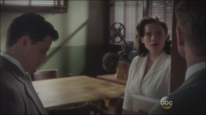 Now is Not the End- Peggy offers to teach Thompson the alphabet