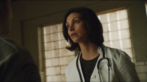 Rogues Gallery- Morena Baccarin as Dr. Leslie Thompkins