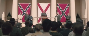 Selma- Governor George Wallace, played by Tim Roth, addresses crowd