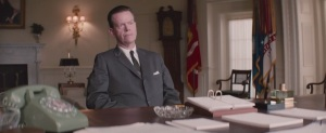 Selma- J. Edgar Hoover, played by Dylan Baker, reports to Johnson on King