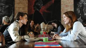 Still Alice- Alice and Lydia, played by Kristen Stewart, have lunch and talk about Lydia's future