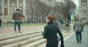 Still Alice- Alice forgets where she is while jogging at Columbia University