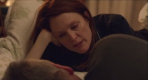 Still Alice- Alice tells John, played by Alec Baldwin, that she's been seeing a neurologist