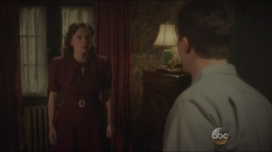 The Blitzkrieg Button- Peggy admits that she trusted Howard