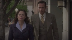 The Blitzkrieg Button- Peggy asks Jarvis if he knew
