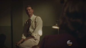 The Blitzkrieg Button- Thompson tells Peggy about the way things are