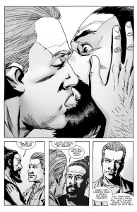 The Walking Dead #136- Alex Kisses Jesus