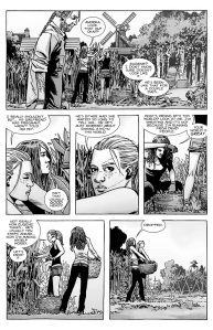 The Walking Dead #136- Andrea and Magna discuss Eugene and Rosita