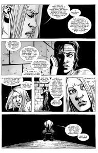 The Walking Dead #136- Lydia fears for her life