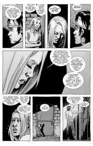 The Walking Dead #136- Lydia feels helpless