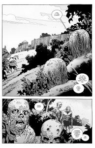 The Walking Dead #136- The Whisperers gather outside the Hilltop
