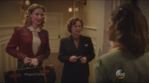 Time and Tide- Miriam introduces Ms. Dorothy Dottie Underwood, played by Bridget Regan, to Peggy and Angie