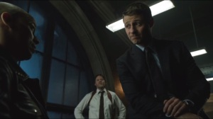 Welcome Back, Jim Gordon- Gordon and Bullock interview one of the officers