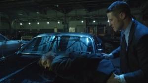 Welcome Back, Jim Gordon- Gordon arrests Derek Delaware, played by Niko Nicotera