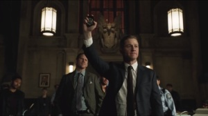 Welcome Back, Jim Gordon- Jim reminds the GCPD that people like Winkler trust the police