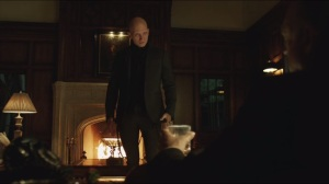 What the Little Bird Told Him- Zsasz and Falcone discuss Falcone's reputation and respect