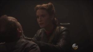 A Sin to Err- Flashback, Dottie kills a man