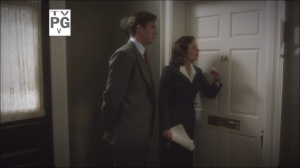 A Sin to Err- Peggy and Edwin arrive at Ms. Emke's place