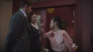 A Sin to Err- Peggy stops Jarvis from getting slapped again