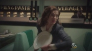 A Sin to Err- Peggy throws a dinner plate