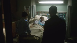 Red Hood- Gordon joins Bruce at the hospital