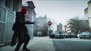 Red Hood- Shootout between Red Hood Gang and the GCPD