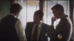 Snafu- Dooley, Sousa, and Thompson consider Peggy's story