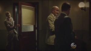 Snafu- Thompson tells Chief Dooley that Agent Yauch is dead