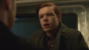 The Blind Fortune Teller- Jim and Leslie meet Lila's son, Jerome, played by Cameron Monaghan
