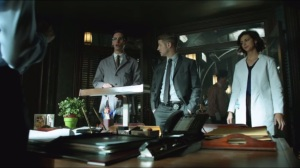 The Blind Fortune Teller- Thompkins and Nygma brief Gordon, Essen, and Bullock on Liza's death