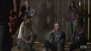 The Distance- Aaron is set up and questioned by Rick- AMC, The Walking Dead