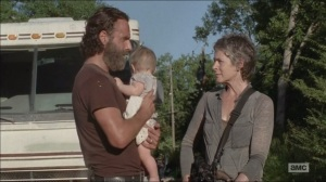 The Distance- Carol tells Rick that even though he was wrong, he's still right