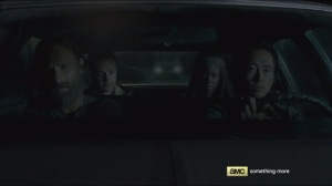 The Distance- Driving with Glenn, Rick, Aaron, and Michonne