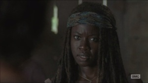 The Distance- Michonne believes Aaron