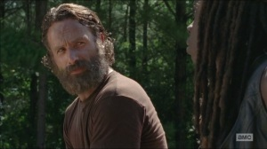 The Distance- Michonne tells Rick to let it go