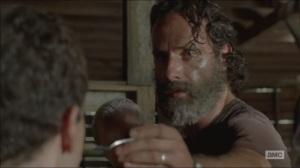 The Distance- Rick makes Aaron taste the apple sauce
