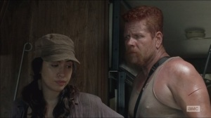 The Distance- Rosita and Abraham have a moment