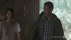 The Distance- Sasha and Maggie bring Aaron to the group