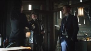 The Fearsome Dr. Crane- Essen, Bullock, and Gordon go over Crane's victims