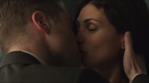 The Fearsome Dr. Crane- Gordon and Thompkins kiss