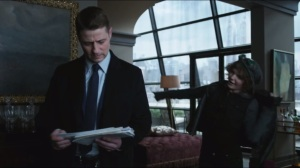 The Fearsome Dr. Crane- Gordon finds Selina Kyle in Barbara's apartment