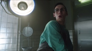 The Fearsome Dr. Crane- Nygma caught digging through Jodowsky's body