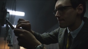 The Fearsome Dr. Crane- Nygma picks a lock