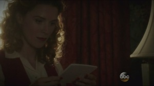 The Iron Ceiling- Dottie finds photos of Stark's technology