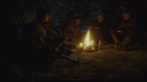 The Iron Ceiling- Peggy and the Howling Commandos shoot the shit around the campfire