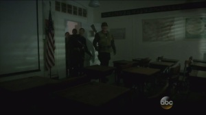 The Iron Ceiling- Peggy's team enters a classroom