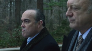 The Scarecrow- Maroni meets Falcone, talks about Penguin